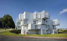 A Saintes, un projet d'habitat social réinvente la notion de vivre ensemble. Un nuage habité à la forme impalpable, vient marquer l'entrée d'un quartier populaire des années 70 «Les...