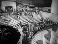 Año 2040 en Things to Come, de William Cameron Menzies basada en la novela de H.G. Wells. 1936