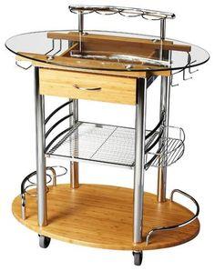 Butler Kalla Modern Bar Cart 3240140