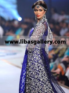 Zainab Chottani Beautiful Bridal Gown Wedding Dress Designer Bridal Gown Uk, USA Zainab Chottani Wedding Dresses Collection Designer Bridal Lehenga New York, New Jersey, Texas and California, United States USA, Zainab Chottani Wedding Dresses Collection  Zainab Chottani Shehnai Collection Pantene Bridal Couture Week 2014 Buy Online At www.libasgallery.com Tel.+1 585 638 3311 ( USA Customers)