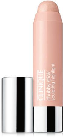 Clinique Chubby Stick Sculpting Highlight  $23 by Clinique at Neiman Marcus  COPY LINK   FAVORITE        Available Colors: HEFTY HIGHLIGHT Available Sizes: DETAILS Clinique Chubby Stick Sculpting Highlight DetailsLuminous cream highlighting stick with light-reflecting optics brings your best features forward. Glide on over bare skin or foundation to accentuate top of cheekbones, bridge of nose and other areas. Long-wearing, oil-free.
