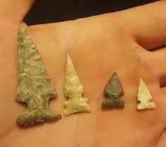 Oklahoma arrowheads.