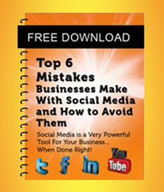Top 6 Mistakes Businesses Make With Social Media and How to Avoid Them. http://sixsocialmediamistakes.com/