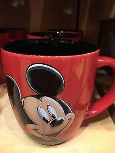 disney parks walt disney world mickey ceramic coffee mug new