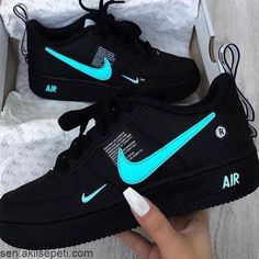most popular nike products sneakers nike air force Cute Nike Shoes, Cute Sneakers, Shoes Sneakers, Women's Shoes, Black Sneakers, Shoes Trainers Nike, Retro Nike Shoes, Sneakers Workout, Shoes Jordans