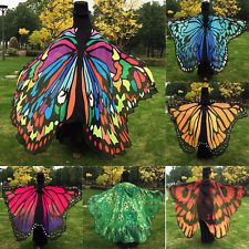 New Women Butterfly Wing Shawl Stole Scarf Wrap Dress Decor Christmas Party Gift