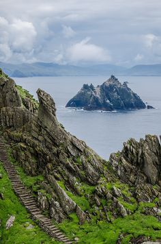wanderthewood:    Skellig Islands Kerry Ireland by -Terrier-
