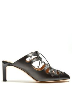802543aa546 Dixie leather mules by The Row Leather Mules
