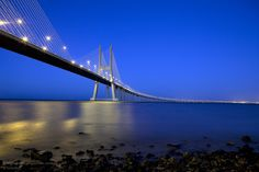 Vasco da Gama Bridge,,, Portugal