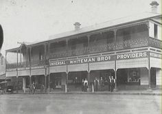 Camden NSW, Whiteman's Store on Argyle Street, Owned and operated by four generations of the Whiteman family. Camden Nsw, Argyle Street, Adaptive Reuse, Old Signs, Historical Society, Department Store, Back In The Day, Old Town, Over The Years
