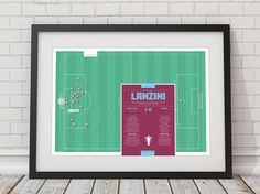 Football Print Lanzini Print West Ham Print Football Gifts