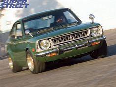 Check out this 1974 Toyota Corolla SR5 that packs a turbocharged 2-TGEU engine with TRD modifications. - Super Street Magazine