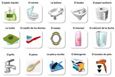 1000 images about la casa on pinterest spanish for Kitchen utensils in spanish