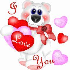 Imagenes con lindos ositos, mensajes y frases de te amo y mensajes romanticos para dedicatorias