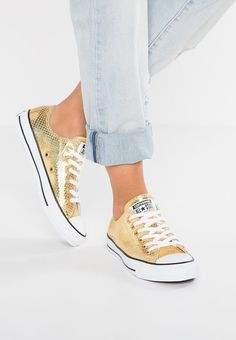 585cde4e881 Browser the Main Color of Gold Converse Chuck Taylor All Star Metallic  Snake Leather Men/Women Footwear Low At Bestselling Wholesale - Converse  Chuck Taylor ...