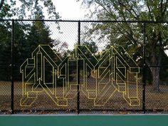 yarn graffitti  H O T  T E A