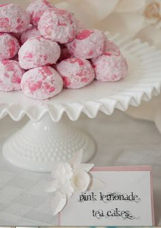Cute place cards for dessert table! Paper flower tutorial