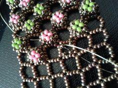 Half - Ootheca Cuff bracelet by KRIStalbead | Jewelry Ideas