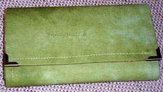Ručne vyrobená peňaženka z bavlnenej látky
