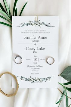 Hochzeitspapeterie Greenery Wedding invitation Suite – Minimalist Wedding Invitations Do you feed th Minimalist Wedding Invitations, Simple Wedding Invitations, Rustic Invitations, Wedding Invitation Design, Wedding Stationery, Event Invitations, Minimalist Invitation, Simple Wedding Cards, Rustic Wedding Invitations