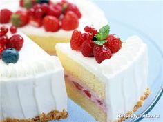 Клубничный торт «Маргарита»