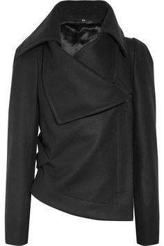 Vivienne Westwood Red Label    Asymmetric wool-blend felt jacket