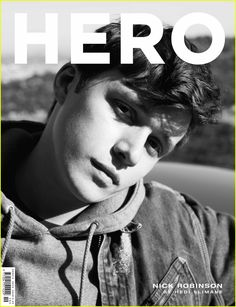 Nick Robinson Is Our Hero for New Magazine Cover!: Photo We all fell in love with Nick Robinson in his new movie Love, Simon and now he is featured on the cover of the latest issue of Hero magazine. Nick Robinson, Amor Simon, Love Simon, Harris Dickinson, Bae, Actors Male, News Magazines, Good Looking Men, Celebrity Crush