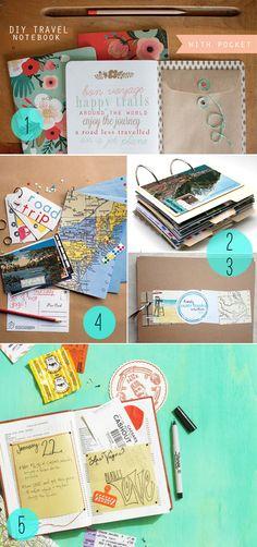 Friday Five | 5 DIY Journals for the World Traveler - Henry HappenedHenry Happened