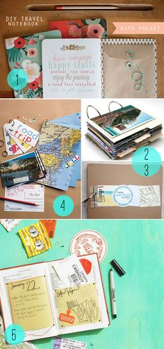 DIY Journals for the World Traveler