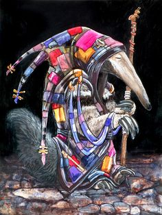 """""""The Pied Anteater"""", by Ursula Vernon."""