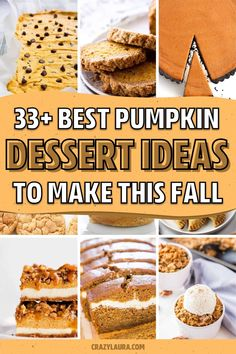 If you're looking for some new dessert recipes to make this Fall, check out these amazing pumpkin recipe ideas and tutorials! Pumpkin Tarts, Pumpkin Custard, Pumpkin Pumpkin, Pumpkin Spice, New Dessert Recipe, Quick Dessert Recipes, Pumpkin Recipes, Fall Recipes, Holiday Recipes