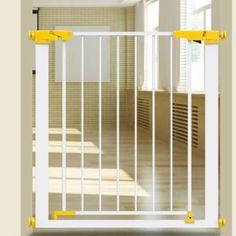 อย่าช้า  Kids Blocking High Fall Protection Double Open Easy Step Walk ThruStair Door Safety Gate Fencing Isolation Pet Barrier - intl  ราคาเพียง  4,359 บาท  เท่านั้น คุณสมบัติ มีดังนี้ Product Features: 1. Material: ABS Plastic, Painted Iron 2. Size: 76 * 76cm / 30 * 30 inches (including bolts), Pitch5.8CM.
