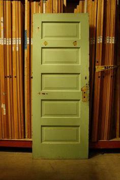 Raised 5 Panel Vintage Interior Door Door