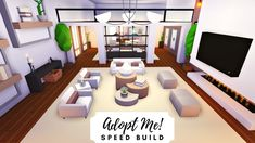 Minecraft Decoration, Home Roblox, Futuristic Home, Cute Room Ideas, Bedroom Color Schemes, Aesthetic Bedroom, House Layouts, Luxury Apartments, House Party