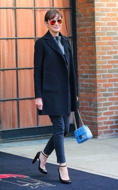 Marion Cotillard Photos: Marion Cotillard Leaves Her NYC Hotel