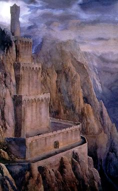 If I could use water colors to create like Alan Lee instead of runny pics -- I might be more inclined to paint with them!