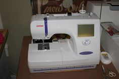 Review of the Janome 300E Embroidery Machine