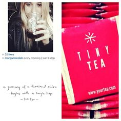 morgannicoleh is loving her Tiny Tea. All our herbal teas are hand picked from high quality farms in China where no pesticides or chemicals are used. It is the quality of the ingredients and the ratio of each, which are specifically chosen by our in house Chinese Medicine practitioners, that separates our blends from others. We are proud to bring all our customers fantastic blends that produce real results. #tinytea #teatox #yourtea
