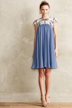KAS New York Carraway Embellished Swing Dress #anthrofave
