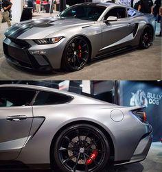 #ford#Mustang#SVT tag–> #American_muscle_mustangs / via @elmar6609 / #SEMA / Mustang GTT / FordGt Kit