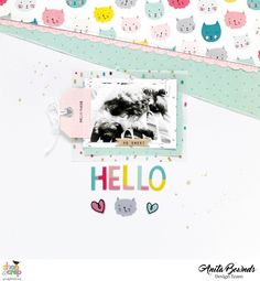 Hi there, Today I'm sharing a layout created using crate paper cute girl I chose this photo to use its of my beautiful boy this phot...