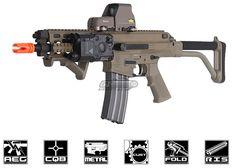 AEG F4-D Full-Automatic Rifle Laser Flash Firepower Weaver//Picatinny M4 A1 M16