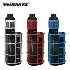 >> Click to Buy << Original 300W WISMEC ES300 Exo Skeleton Starter Kit w/  2.8ml KAGE Atomizer Tank 300W EXO Skeleton TC Box Mod No Battery #Affiliate