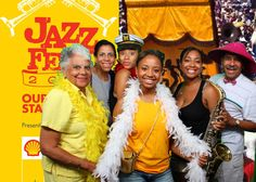 Event activation with green screen photography at Jazz Fest. #experiential #eventmarketing #eventphotography #greenscreen