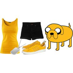"""Jake outfit #adventure time"
