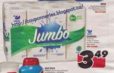 Coupons et Circulaires: 3,49$ Essentiel, essuie-tout Jumbo 8 rlx