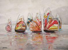 Maison d'enchères en ligne Catawiki: Christophe Gastaldi (XXIe)  - Voiles de papillons
