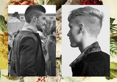 Creative Hair Club! Male Hair Cut With Style