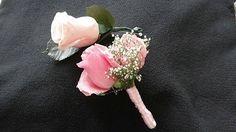 Bridal Bouquet With Pink Roses Pink Rose Corsage by donnahubbard, $125.00
