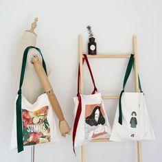 Graffiti Girl, Cotton Bag, Cotton Canvas, Diy Tote Bag, Shopper Bag, Printed Bags, Cloth Bags, Canvas Tote Bags, Fashion Bags